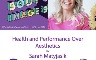 Health and Performance over Aesthetics